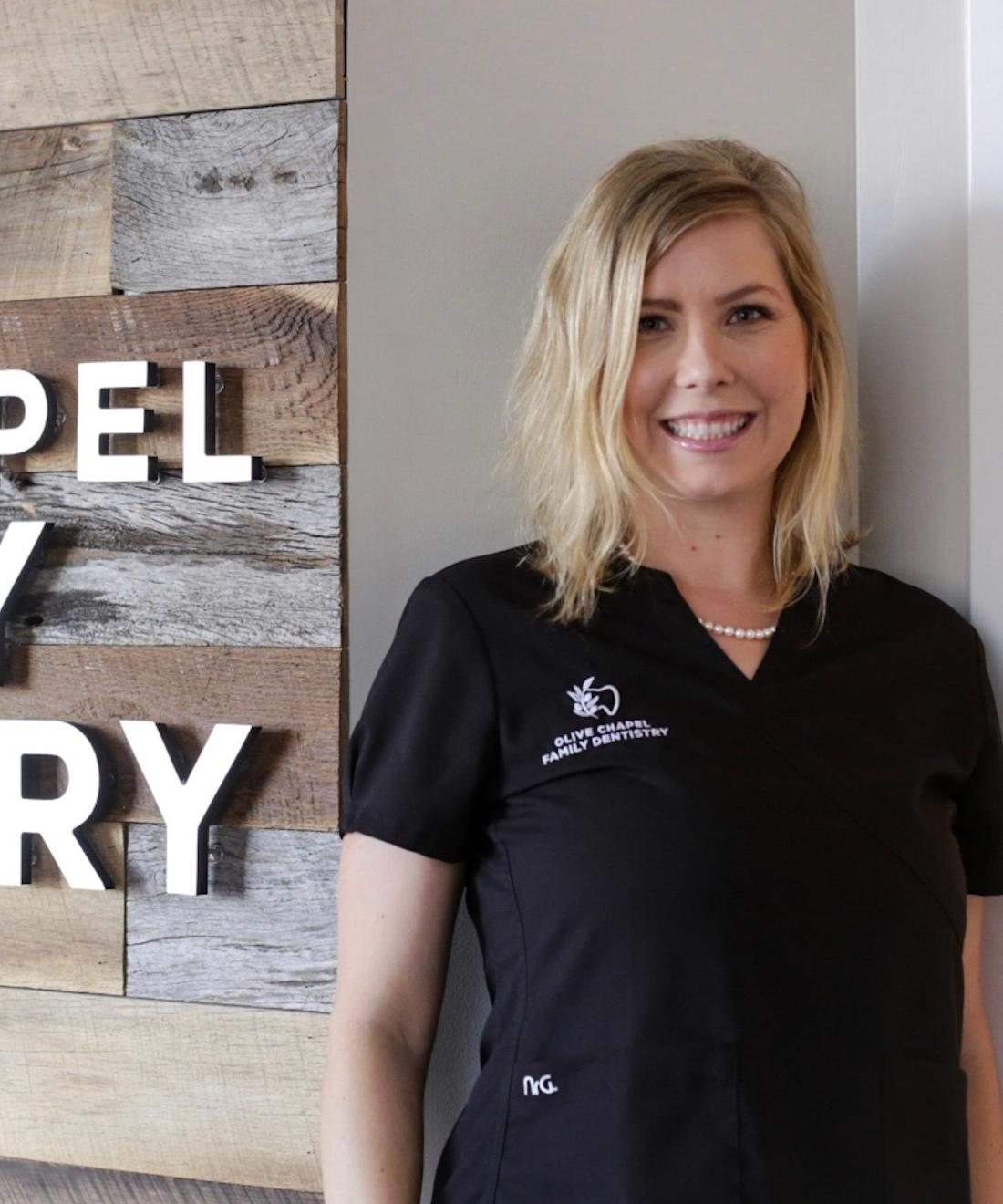 Amber | Hygienist | Olive Chapel Family Dentistry | Apex, NC