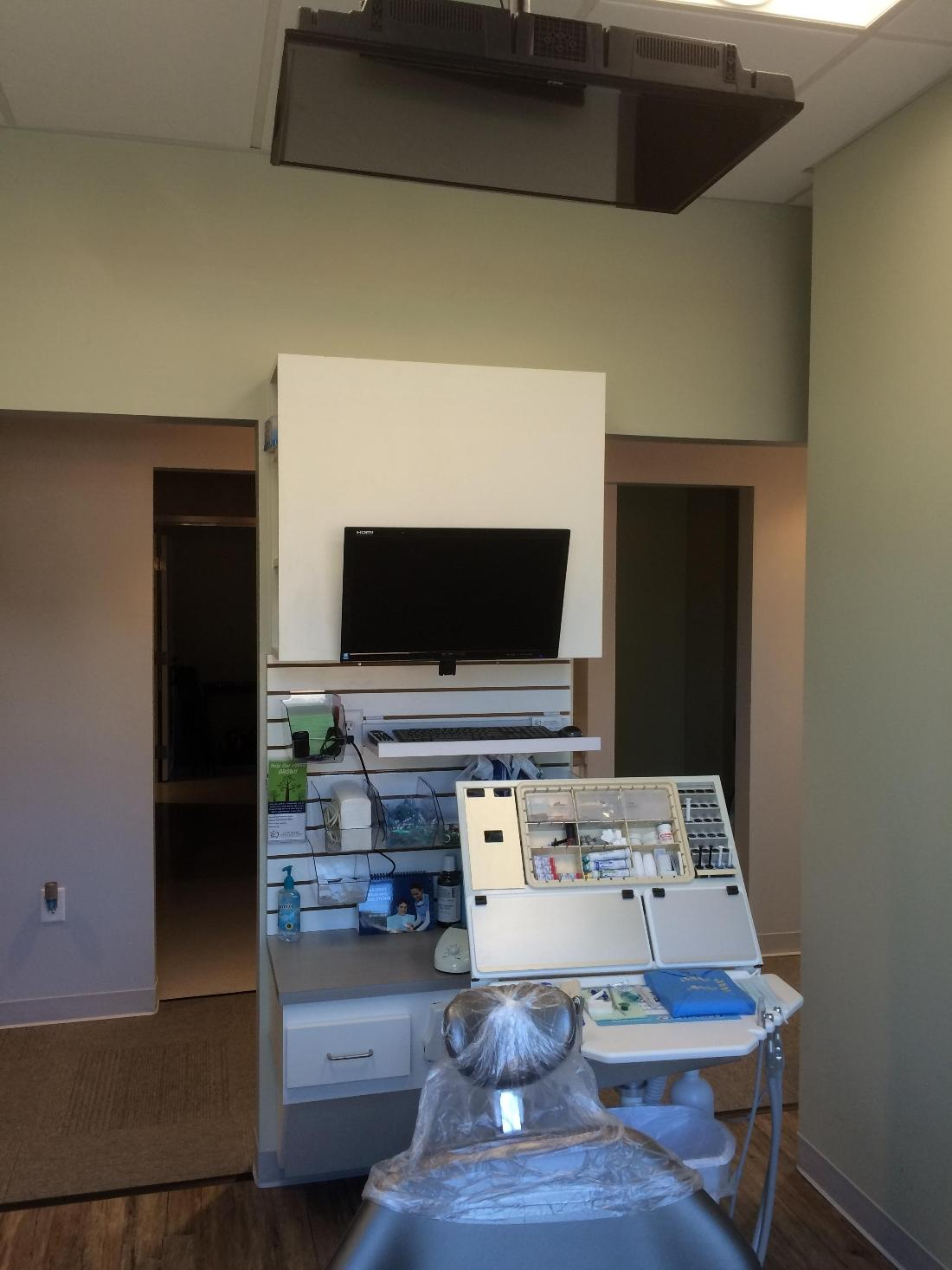 Treatment rooms equipped with all modern technology.